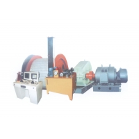 China 37KW 1.0m Electric Pulling Winch For Coal Materials wholesale