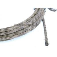 China API 9A Steel Wire Rope Abrasion Resistance For Rotary Drilling Operations wholesale