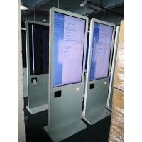 """China All In One Pc Lcd Touch Screen Kiosk 43"""" With Thermal Printer / Qr Code Scanner wholesale"""