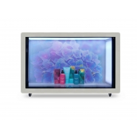 China 55in 400nits Transparent LCD Advertising Player 200W wholesale