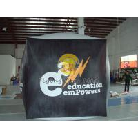 China Reusable durable PVC cube balloon with Full digital printing for Opening event wholesale
