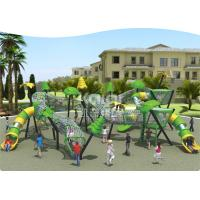 China New  Children  outdoor playground fun  climbing with slide park/ Square using wholesale