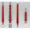 China Wall Through / Cylinder Type Railway Insulators / Suspension Composite Insulator wholesale