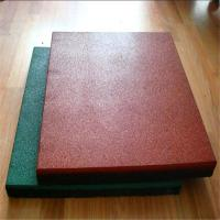 China Anti-fatighue no-pollution rubber tile flooring tiles for playground wholesale