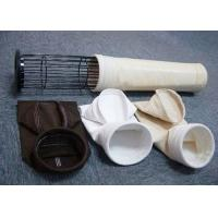 China 100% Pure PTFE Filter Bag Fabric Filter Plant Bags 1000mm~8000mm Length wholesale