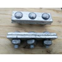 China Anti Rust Power Line Fittings Hot Dip Galvanized Steel Cable Strand Messenger Clamp wholesale