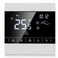 China Touch Screen FCU Temperature Controller Ntc Internal Sensor For Air Condition wholesale