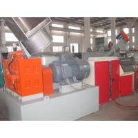 China Durable Plastic Recycling Granulator Machine PP PE Compacting Die - Face Cutting Pelletizing Line wholesale