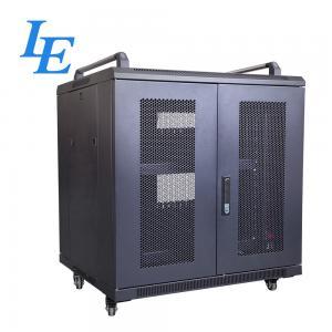 Buy cheap 800KG Loading Capacity Server Rack Cabinet PDU Rack IP20 SPCC Material Rolling from wholesalers