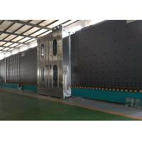 China Low E Insulating Glass Production Line Frequency Control With 6 Soft Hair Brushes wholesale