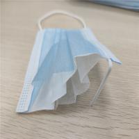 China 19.5*7.5cm Small Size Convenient 3 Ply Non Woven Face Mask wholesale