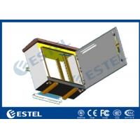 China Single Layer Pole Mount Enclosure , SPCC Galvanized Steel Outdoor Electronics Cabinet wholesale