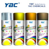 China High Spray Rate Acrylic Lacquer Spray Paint Impact Resistance for Wood, Metals Surfaces on sale