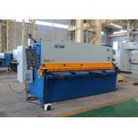 China 4mm 4000mm Hydraulic Shearing Machine With Schneider Electrical Components wholesale
