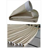 China Cement Plant Nomex Filter Bag PTFE Membrane Dust Right Bag 2.2mm Thickness wholesale