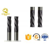 China High Performance Rounded Edge End Mill Bull Nose Milling Cutter AlTiN Coating wholesale