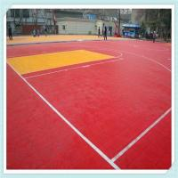 China High quality modular tiles Outdoor PP Interlocking Sports floor for Basketball court wholesale