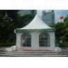 China Outside White Durable High Peak Tents , 4M X 4M Aluminum Structure Tent wholesale