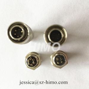 China push pull self-locking 4pin Hirose solder pin electronic connectors wholesale