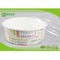 Buy cheap No Leak 1000ML Paper Salad Bowls Food Grade FDA & FSC & BRC & ISO Certification from wholesalers