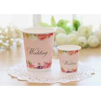 Quality Multiple Size Single Wall Paper Cups For Cold Hot Drinks With Food Safe Inks for sale
