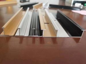 China Polishing 0.8mm Aluminium Floor Trim Profiles L Angle Shape wholesale
