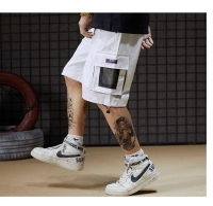 China Custom clothing manufacturers China ODM Baggy Ins Harajuku Men'S Board Shorts Mid Waist wholesale