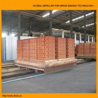 China New technical design clay brick tunnel kiln project with brick dryer chamber wholesale