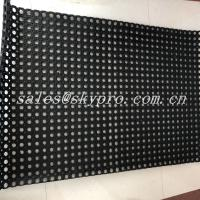 China Black Hole Type Hydrophobic Rubber Mats For Kitchen Workshop on sale