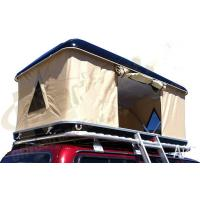 China Double Layer Automatic Hard Top Car Tent , 3 Person Roof Top Tent Custom Printed wholesale