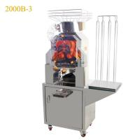 China Stainless Steel Metal Casing Auto Feeder Orange Pomegranate Juicer Machine wholesale