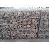 China Galvanized Welded Gabion Box , Retaining Wall Stone Cage  Gabion Basket wholesale