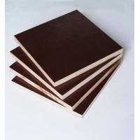 China Film Faced Poplar Plywood For Cabinets , Decorative Plywood Sheets Anti Wear wholesale