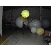 China PVC Colorful Inflatable Balloon , Fireproof 0.18mm Thickness Advertising Balloon wholesale