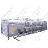 China Auto 5 Gallon Water Bottle Filling Machine Hot Alkaline Washing With Rotary Filling wholesale