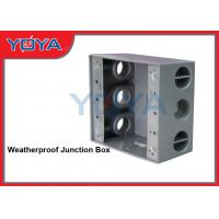 Weatherproof Outdoor Electrical Junction Box With Mounting Lugs For Branch Conduit Of