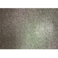 China Bedroom Wallpaper PU Material Silver Glitter Fabric For Living Room Home Decor wholesale