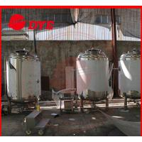 China Customized Alcohol Storage Bright Beer Tank With CE Approved wholesale