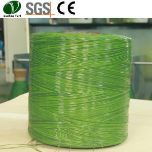 China Flat Grass Yarn Eco Friendly Monofilament Fiber Material PP Bag Packing wholesale