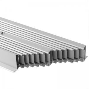 China Repand Aluminium Heat Sink Profiles Heating Cooling Radiator System For Electronics wholesale