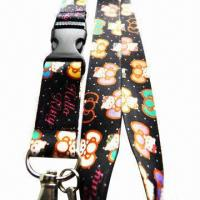 China Heat-transfer Lanyard, Customized Colors and Logos are Accepted wholesale