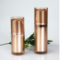 China Custom OEM PP Airless Pump Bottle For Cosmetic Packaging wholesale