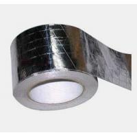 China Self Adhesive Aluminum Adhesive Tape / High Temperature Aluminum Tape Foil Tape For Insulation on sale