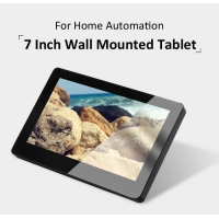 China 7 Inch Android POE Wall Mounted Touch Tablet With RS485, Relay For Industrial Control wholesale