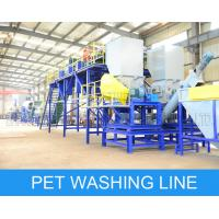 China Fast Speed PET Bottle Recycling Machine Flakes Washing Recycling Production wholesale
