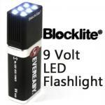 China 6 LEDs High Lumen LED Flashlight Environmental Friendly PC TPR Materials wholesale