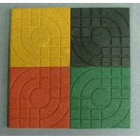 China Yellow Rubber Surfacing Playground Rubber Mats For Outdoor Play Areas wholesale
