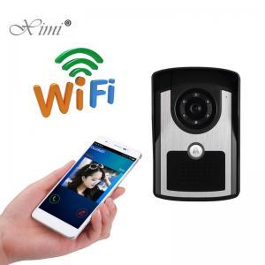 China High Solution Video Door Phone , Stable Video Door Intercom System With APP wholesale