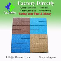 China 400*400 Outdoor EPDM Rubber Floor Tiles on sale
