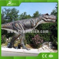 China KAWAH  Attractive Handicraft Life-size T-rex Model Outdoor Animated Dinosaur on sale